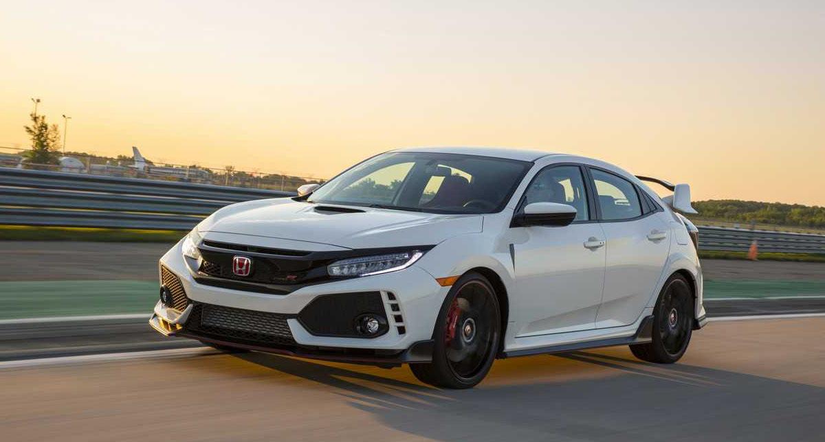 El Honda Civic Type R 2019 es el número 8 en esta lista