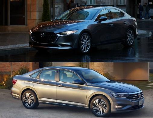 Comparativa: Mazda 3 Sedán i 2019 vs. Volkswagen Jetta Trendline 2019
