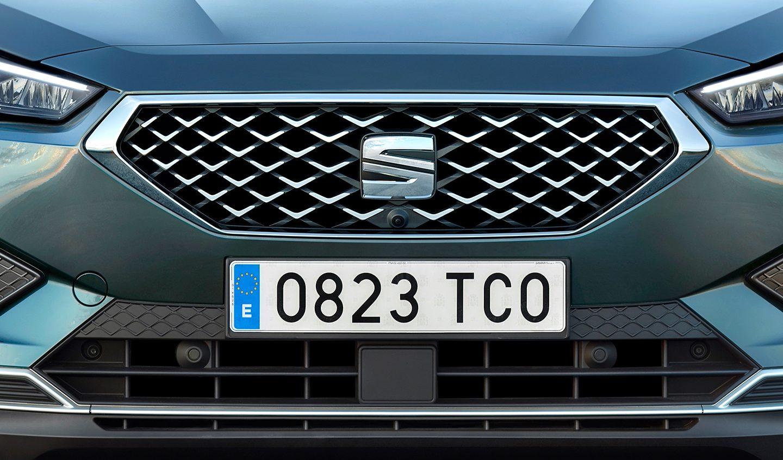 El capó de la SEAT Tarraco absorbe la mayoría de la energía liberada en una colisión frontal