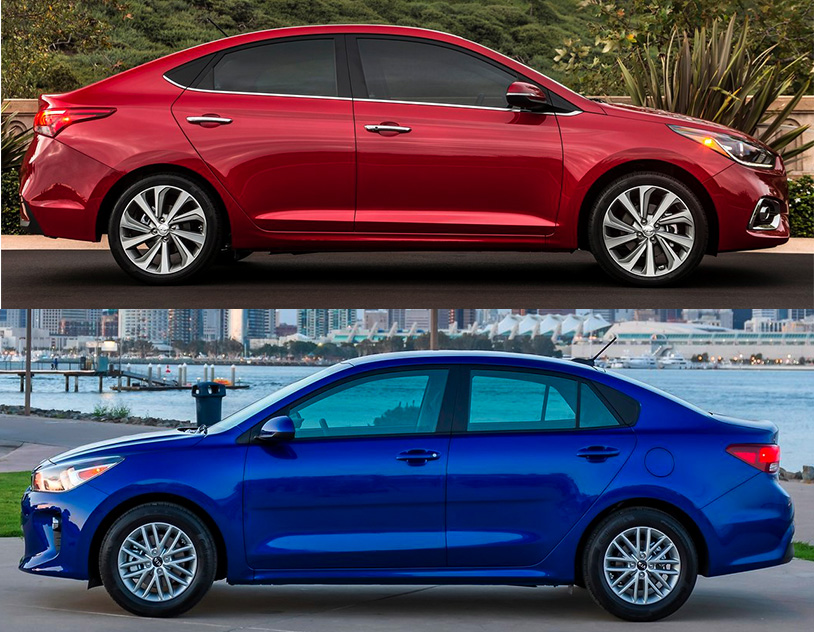 Comparativa: Hyundai Accent 2019 GLS TA vs Kia Rio Sedán 2019 EX TA