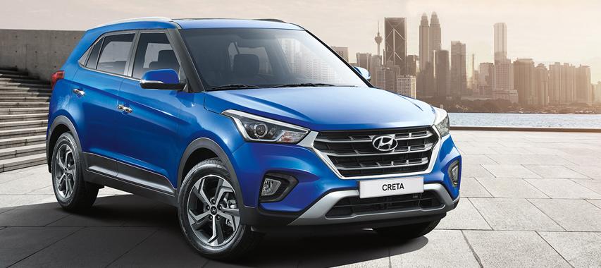 La Hyundai Creta es la representante de la firma surcoreana en esta lista