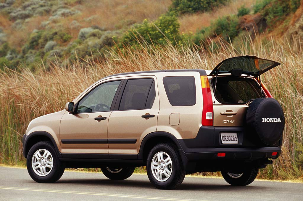 i VTEC vs VTEC: Honda CR-V 2002