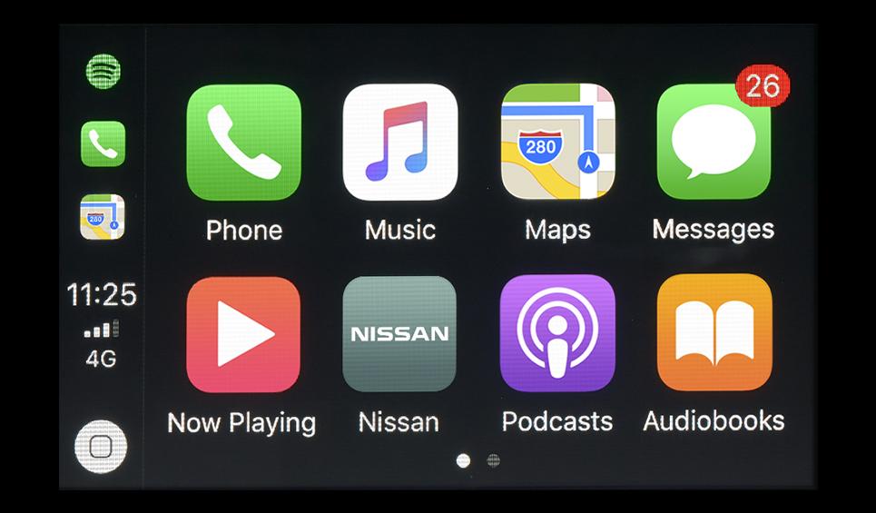 El equipamiento tecnológico del Nissan Sentra Sense MT 2019 es muy escueto y básico