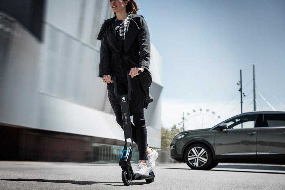 El scooter eléctrico de Peugeot