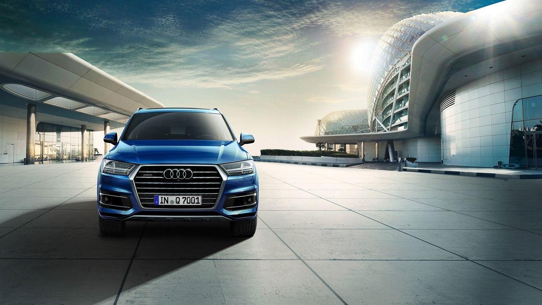 El diseño de la Audi Q7 55 TFSI Select 2019 no es el más atrevido, pero resulta muy correcto en cada línea