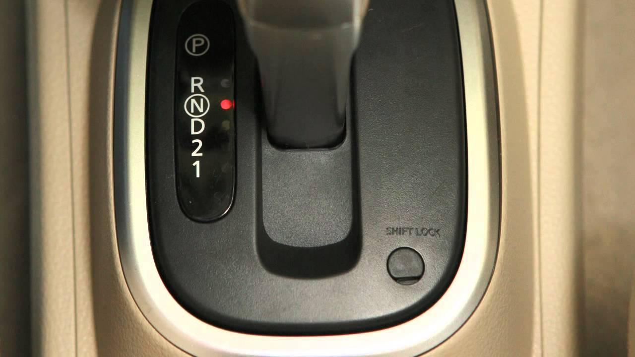 El botón Shift Lock en el auto