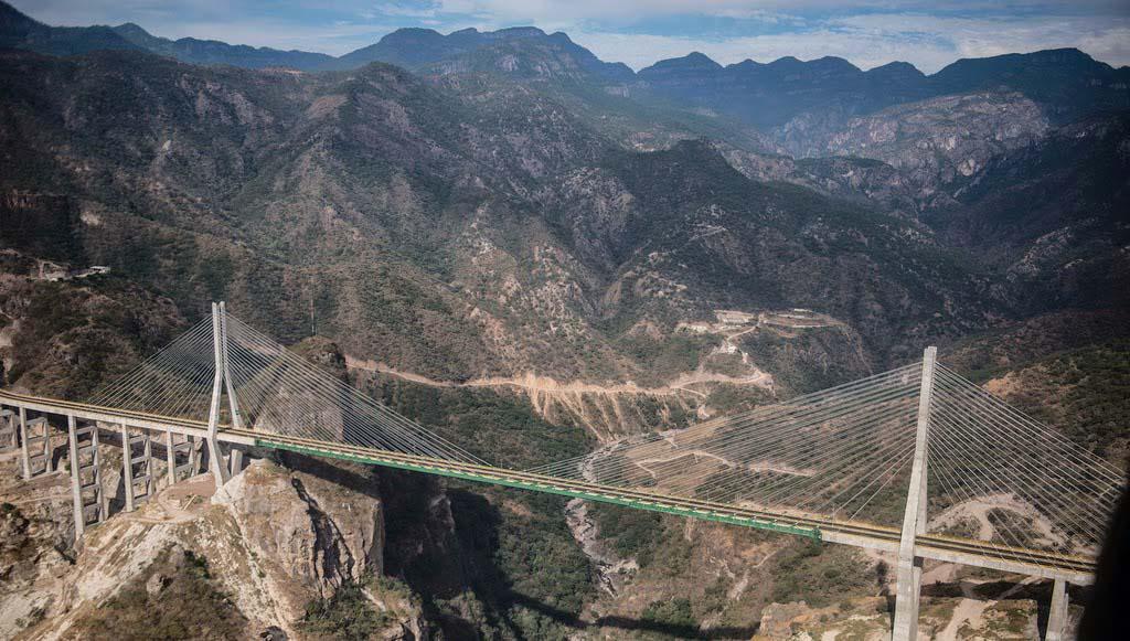El Puente Baluarte Bicentenario es considerado el más importante de México