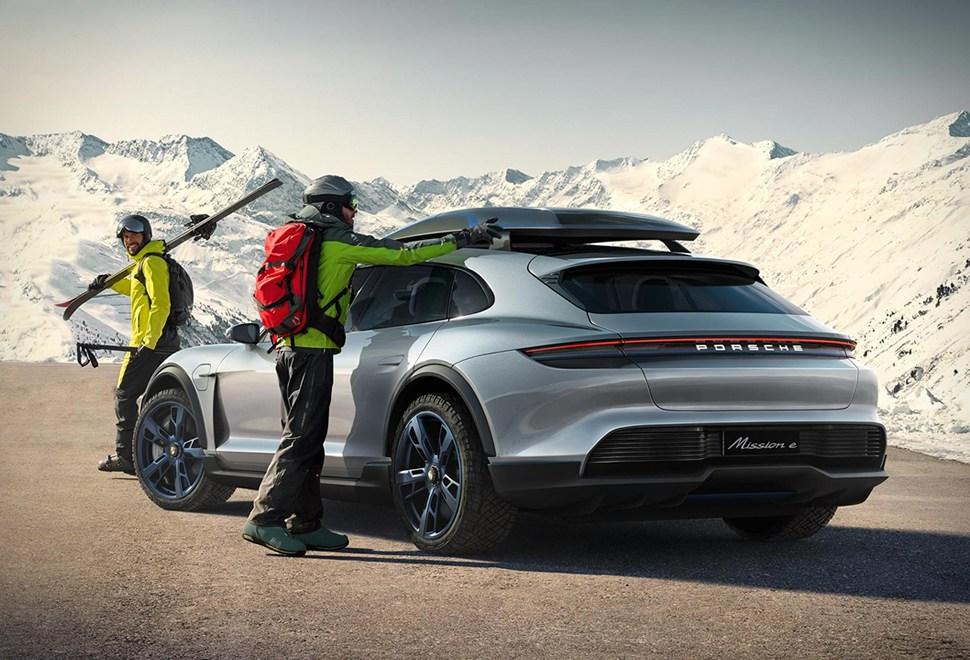 Porsche Mission E Cross Turismo 2020
