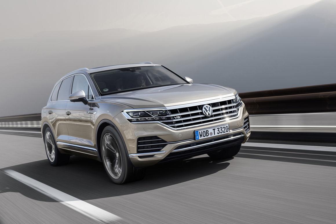 [Auto Show de Ginebra] Volkswagen Touareg V8 TDI, la SUV alemana apuesta por el diésel con 421 caballos