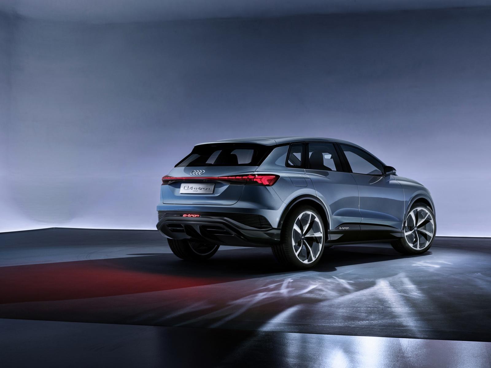 Audi Q4 e-Tron trasera