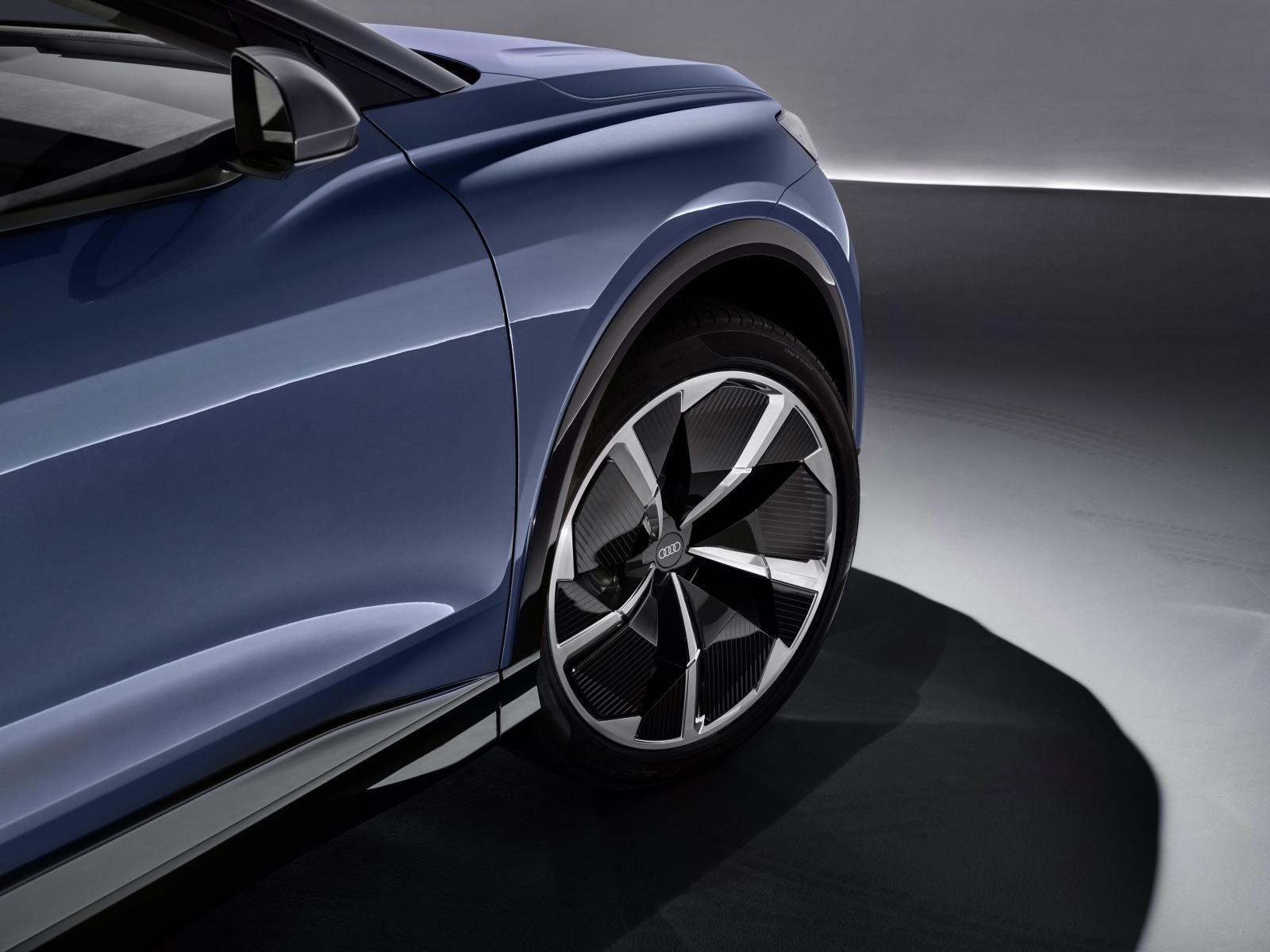 Audi Q4 e-Tron llantas