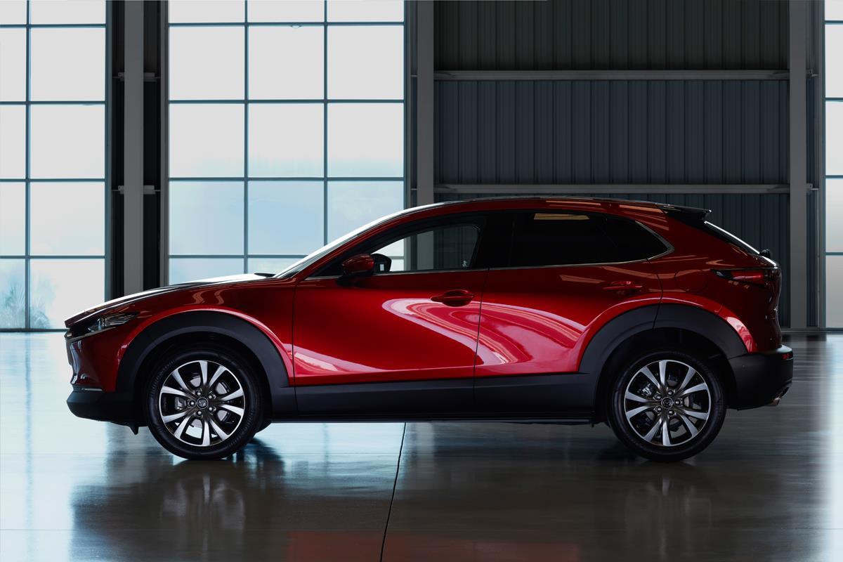 Mazda CX-30 molduras
