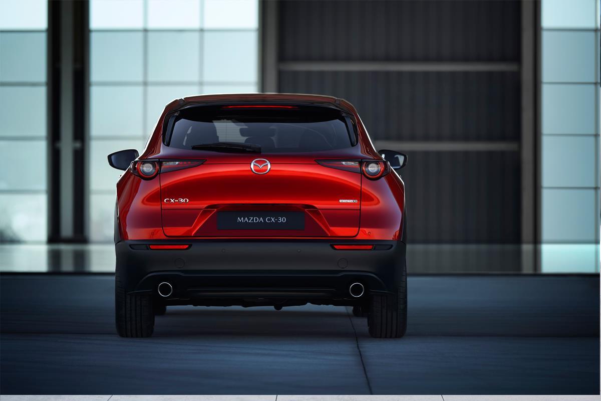 Mazda CX-30 trasero
