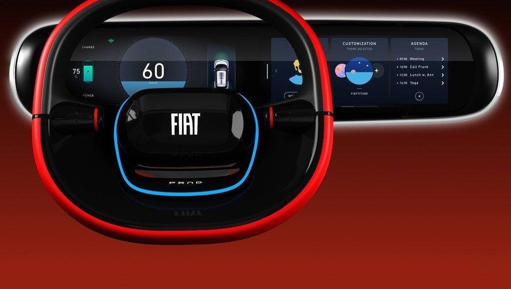 El FIAT Concept Centoventi también posibilita la personalización en el equipamiento tecnológico