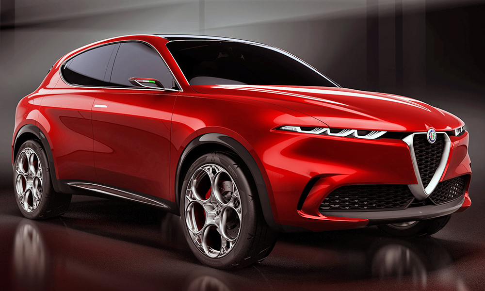 Alfa Romeo Tonale Concept 2020