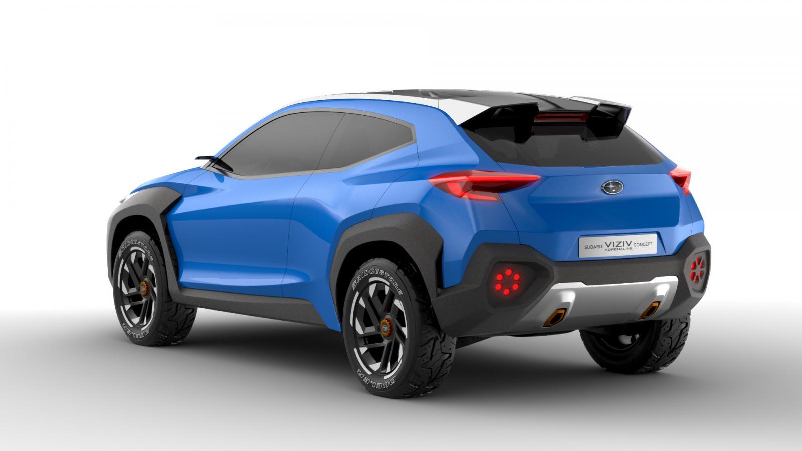 Subaru VIZIV Adrenaline Concept trasera