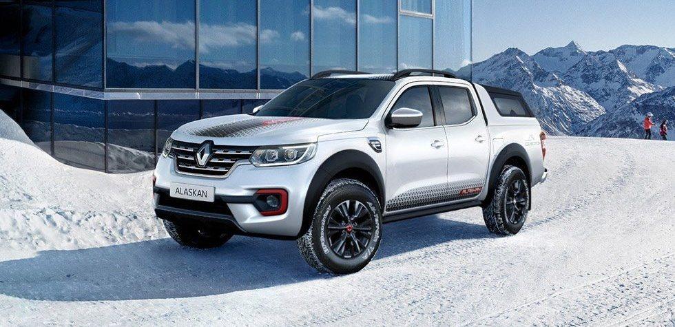 La Renault Alaskan ICE Edition ofrece una renovación estética como primer aspecto diferencial