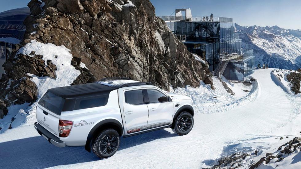 Esta Renault Alaskan ICE Edition puede ser usada como coche personal o para el trabajo