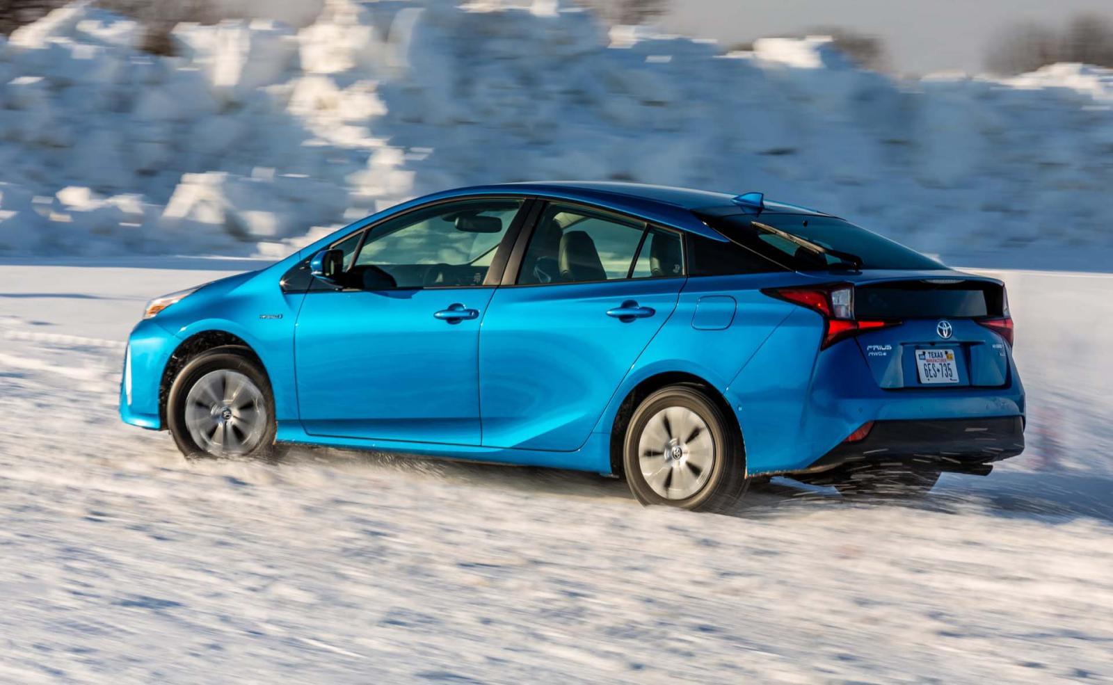 El Toyota Prius es parte de la línea deportiva de la marca