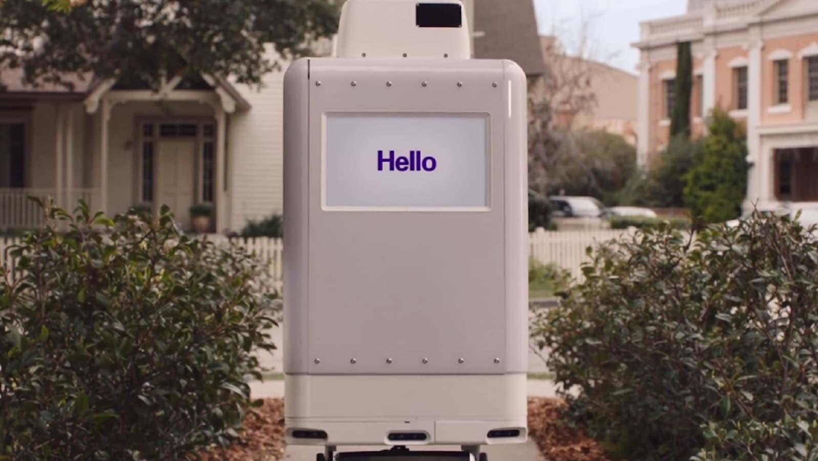 El SameDay Bot es completamente eléctrico con una batería integrada