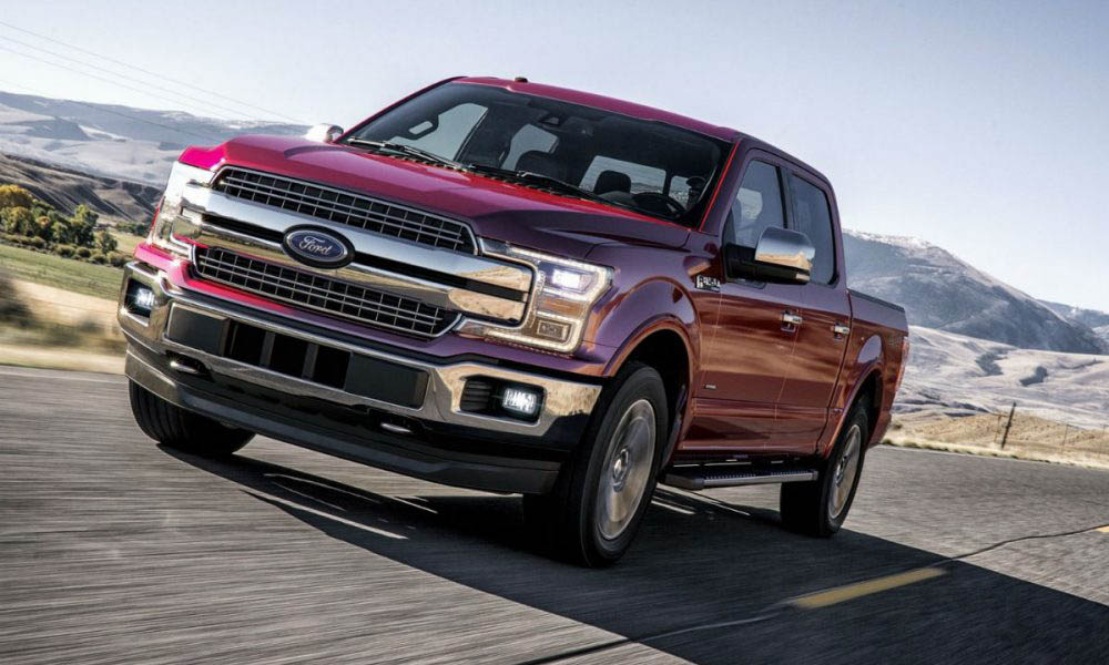 La Ford F-150 es la mejor pick-up catalogada en esta lista gracias a su capacidad de remolque