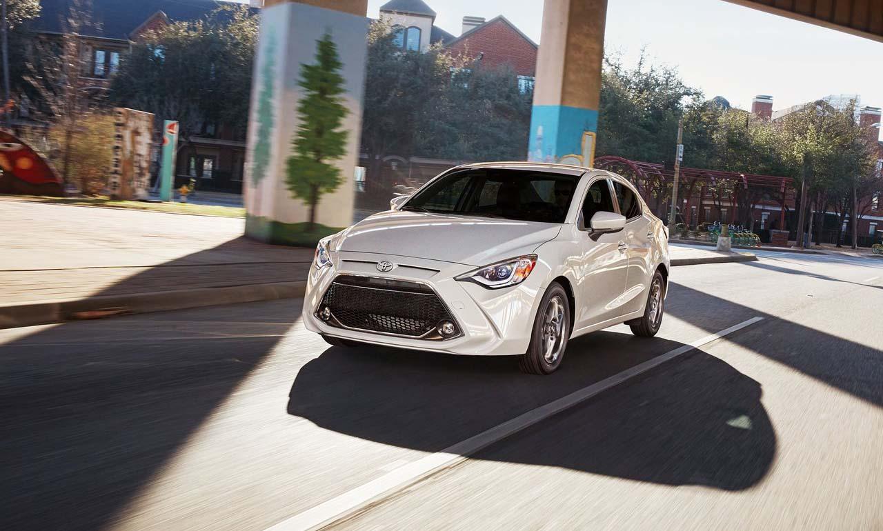 El Toyota Yaris 2019 tiene algunas mejoras que incluyen una nueva versión XLE