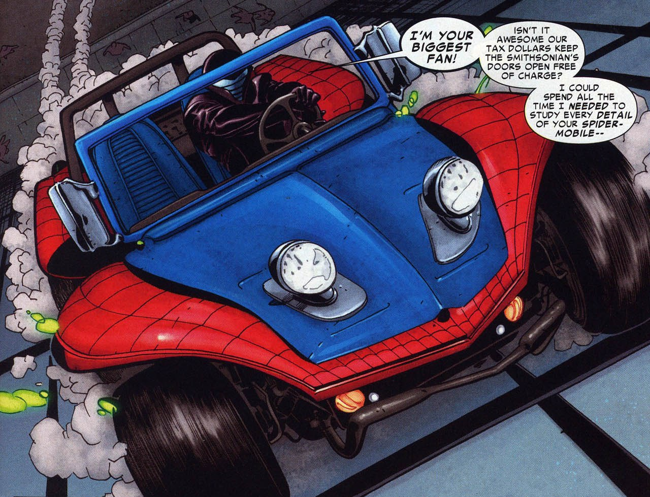 Spider-Mobile, Spiderman