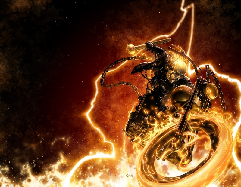 Hell Cycle, Ghost Rider