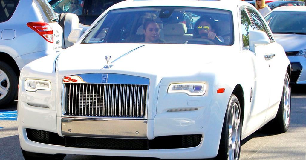 Rolls-Royce Ghost de Kylie Jenner