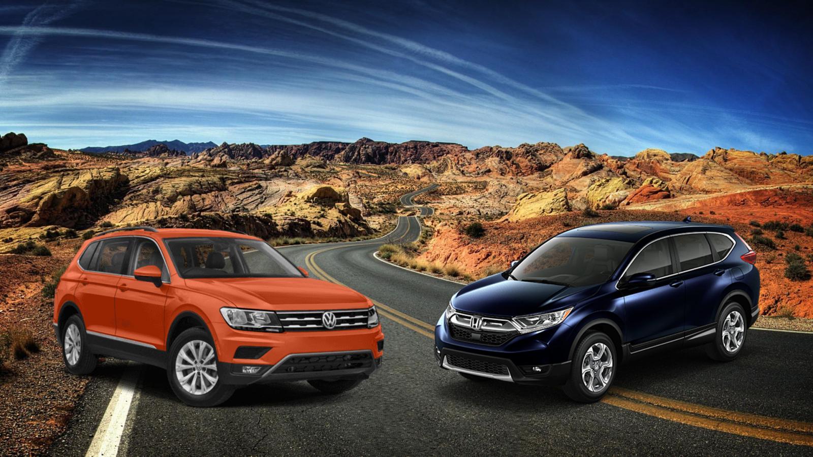 Comparativa: Volkswagen Tiguan Trendline Plus 2019 vs Honda CR-V EX 2019