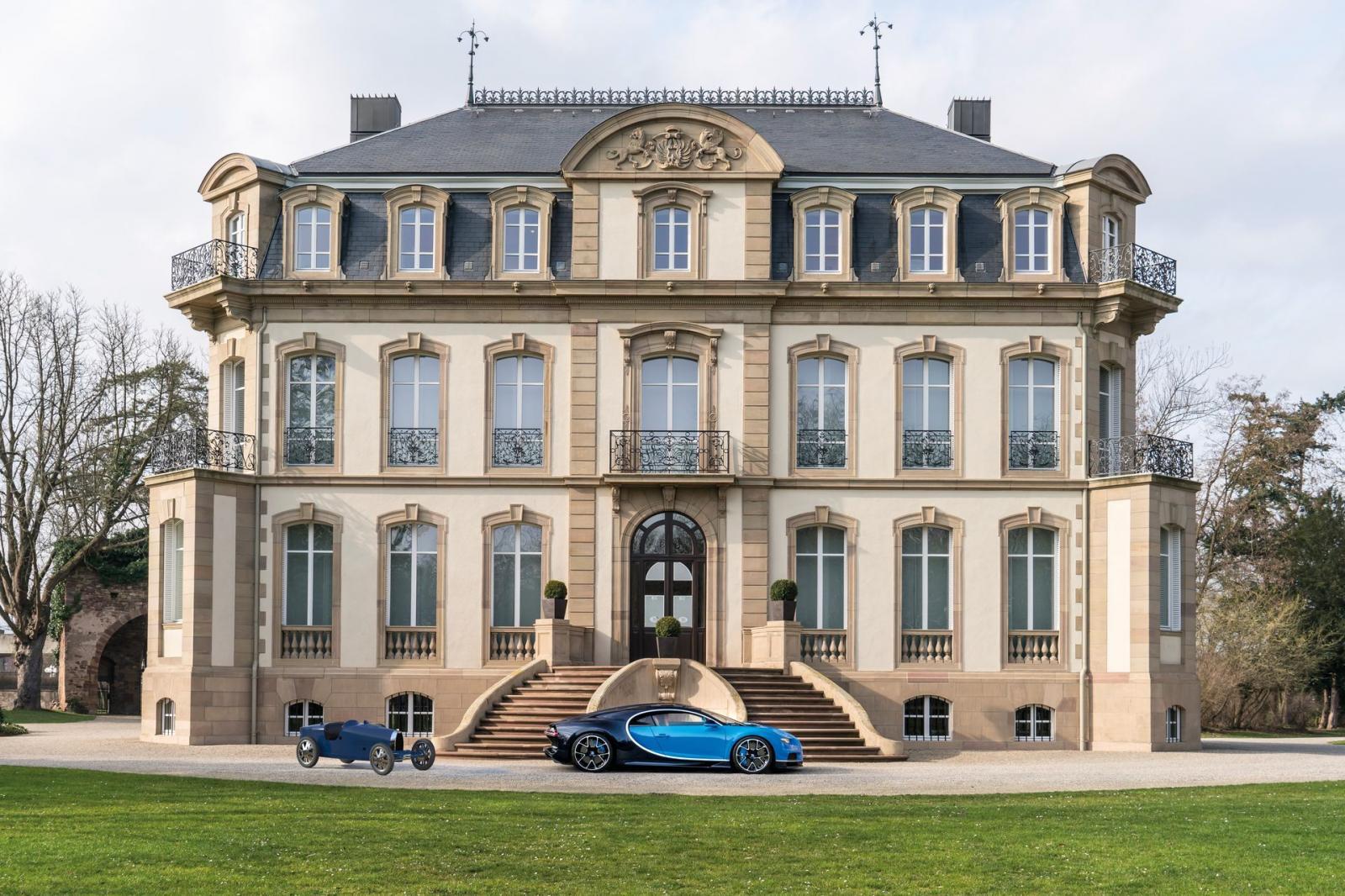 Solo se lanzarán 500 unidades del Bugatti Type 35 Baby II