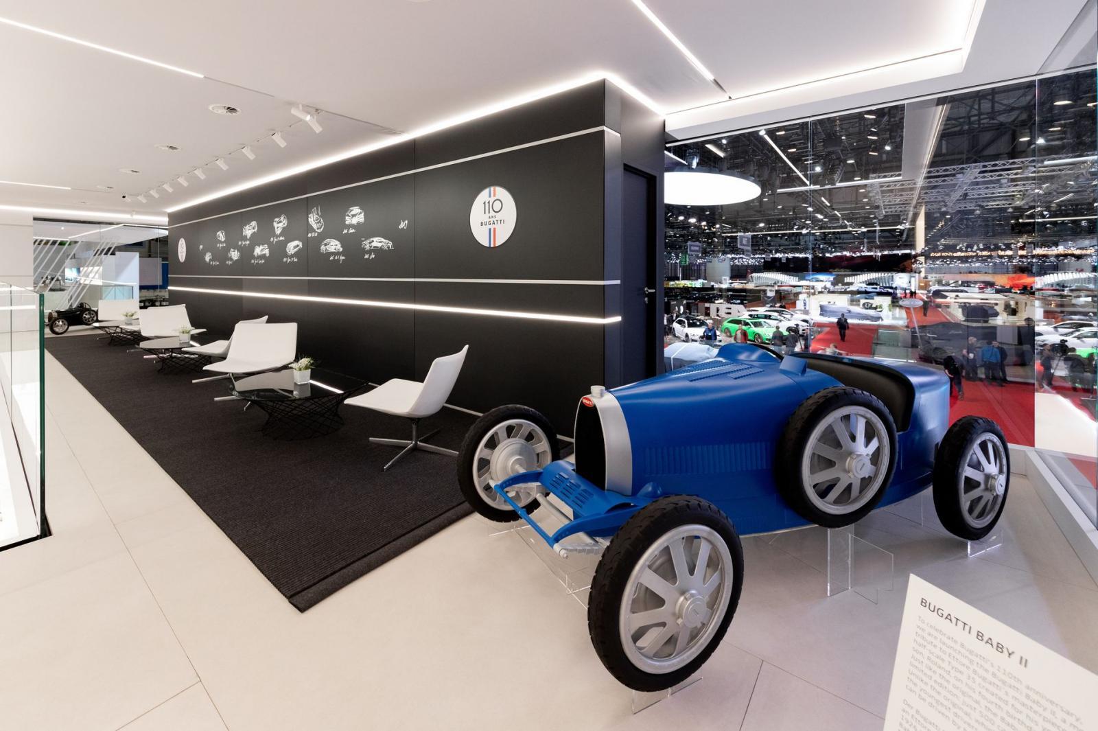 4f2e3a993 Bugatti Type 35 Baby II, un auto eléctrico de juguete para festejar 110  años de