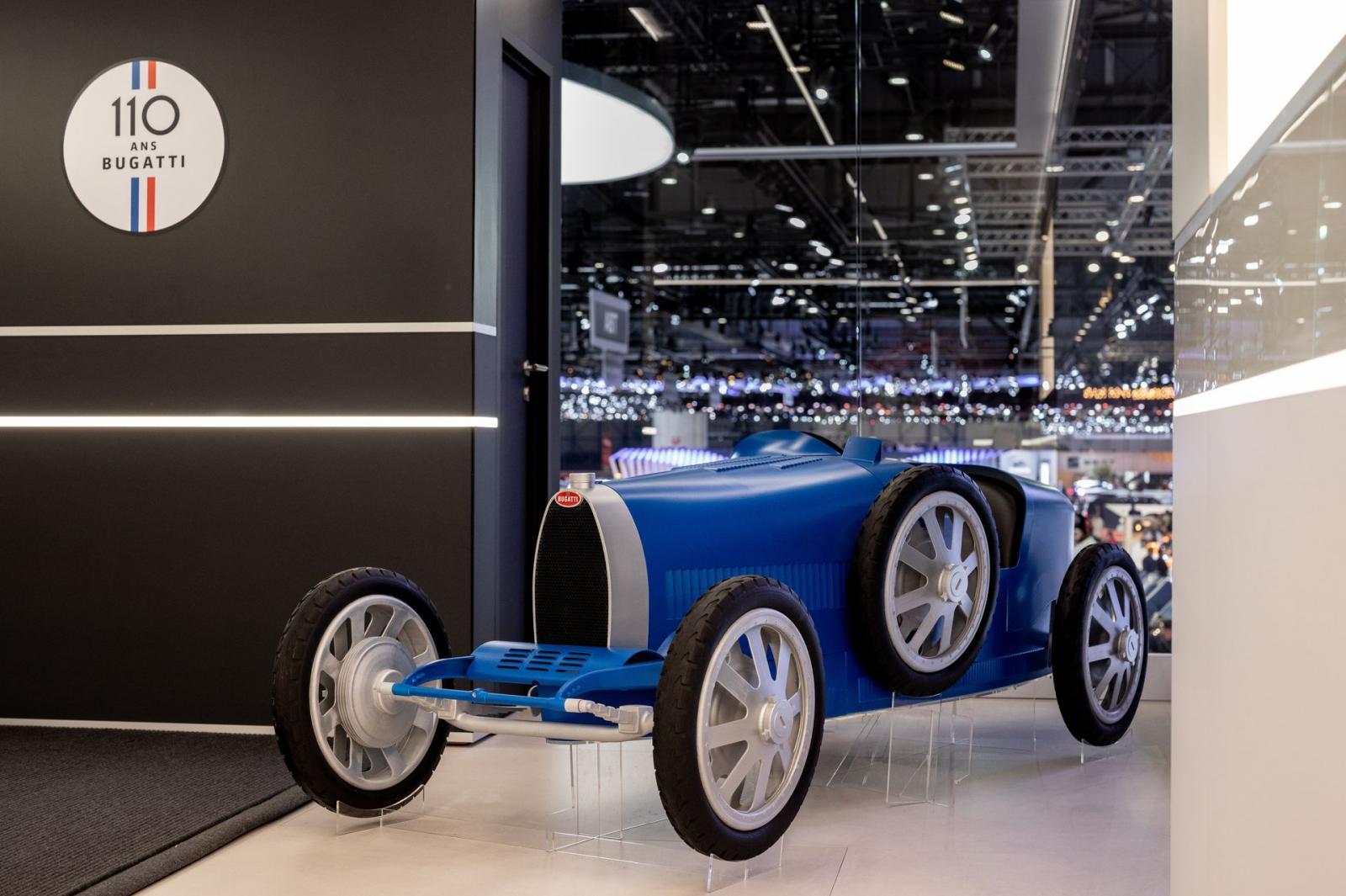 El Bugatti Type 35 Baby II se une a los festejos por los 110 años de historia