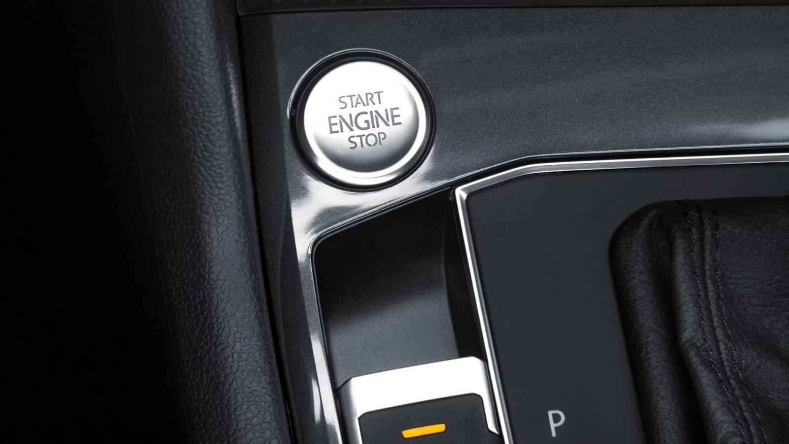 La Volkswagen Tiguan Trendline Plus 2019 cuenta con botón de encendido