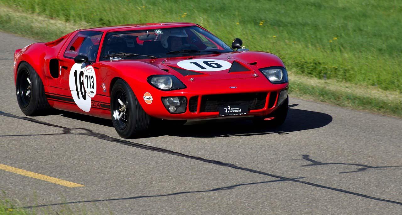 El Ford GT40 surgió como resultado de la compra fallida de Ferrari