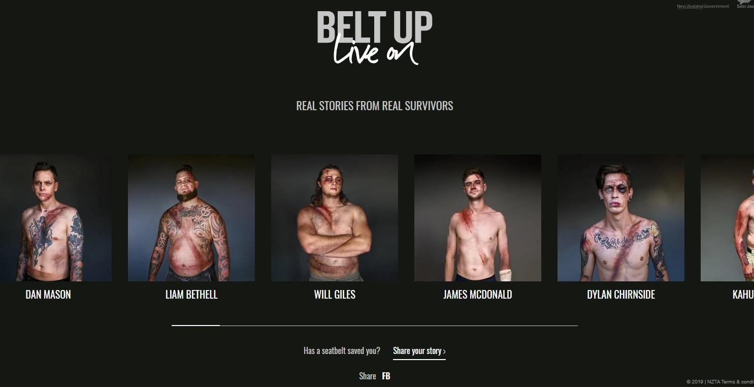 Belt Up Live On campaña