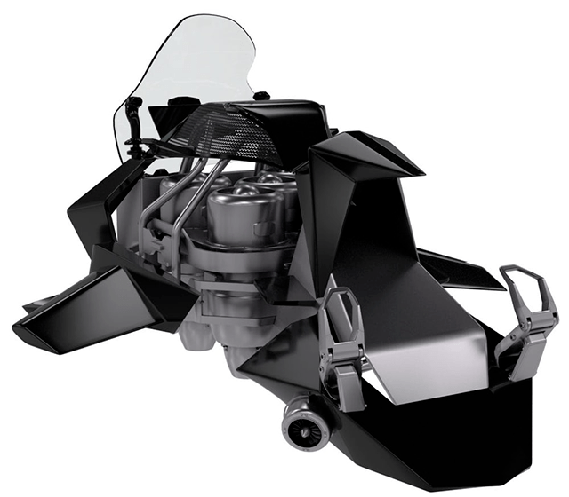 La JetPack Speeder ofrece la posibilidad de volar hasta los 4,500 metros de altura