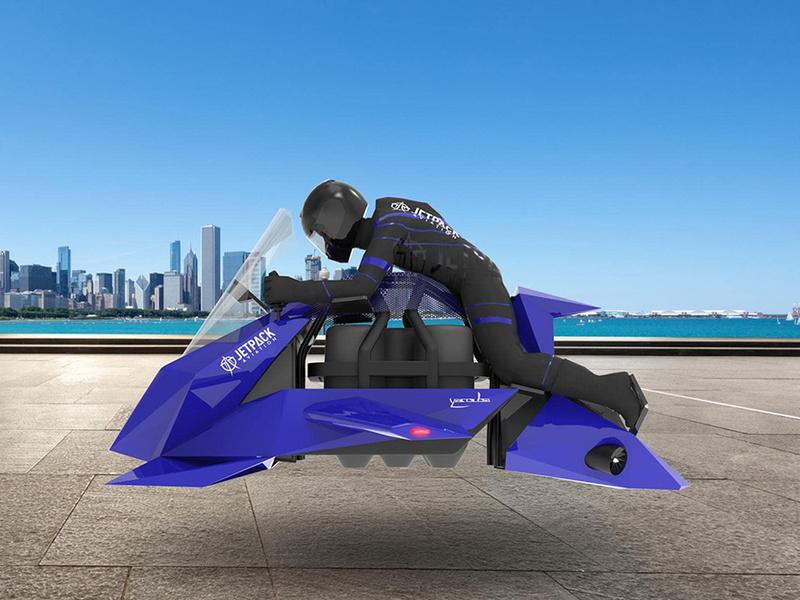 La JetPack Speeder se perfila para ser la primera moto voladora del mundo