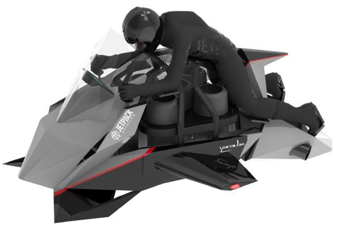 JetPack Speeder ¿la primera moto voladora del mundo?