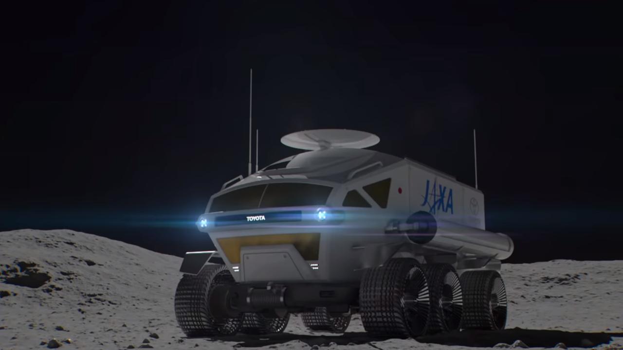 El Toyota Space Mobility Concept será un vehículo dedicado a la exploración espacial