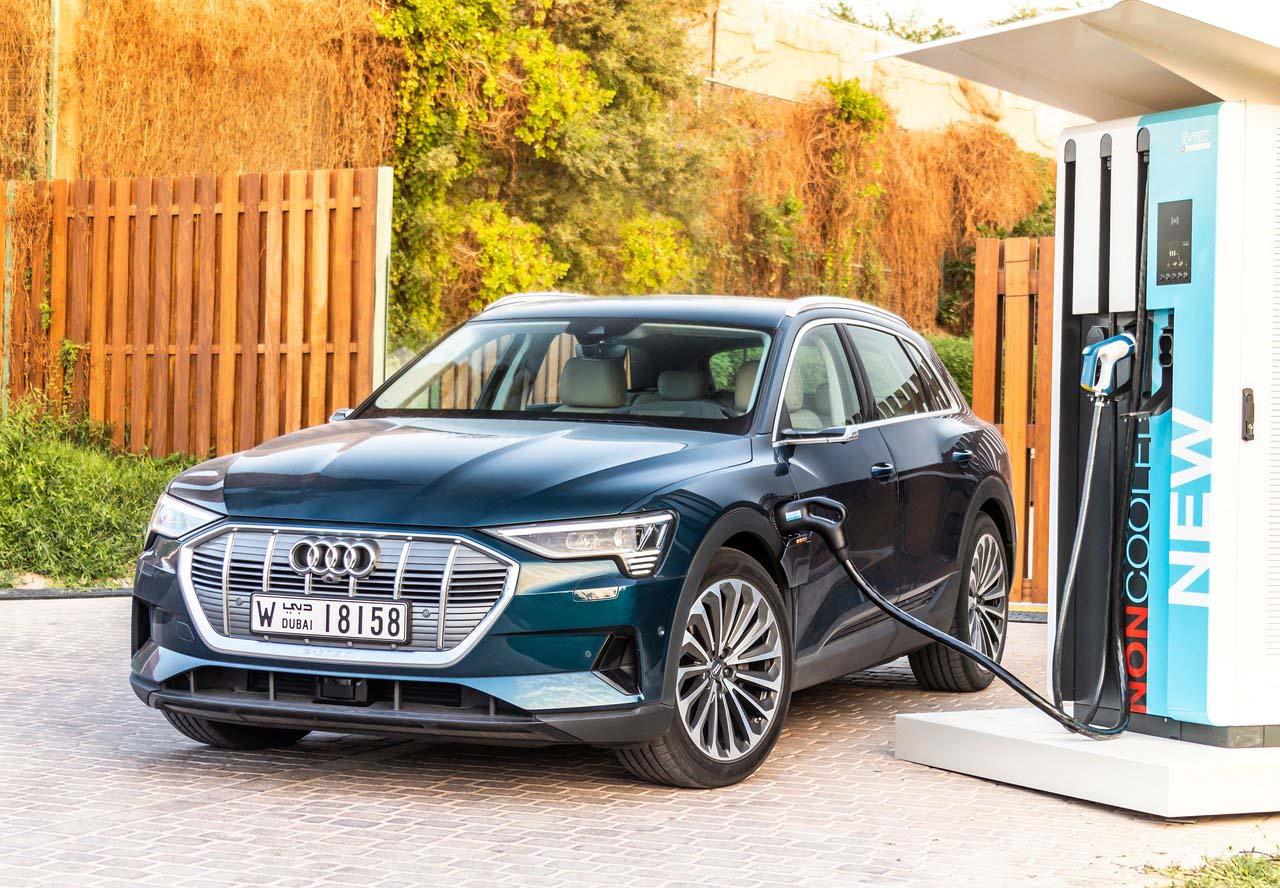 El Audi e-tron es de los autos eléctricos más avanzados de Volkswagen