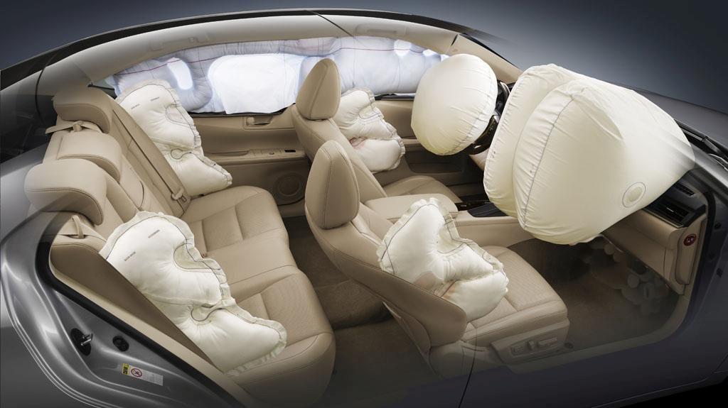 Las bolsas de aire para auto no solo se ubican en el cubo de volante