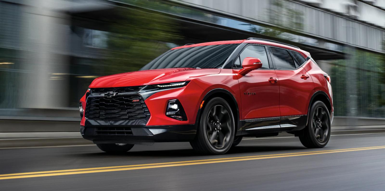 Chevrolet Blazer 2019 frontal