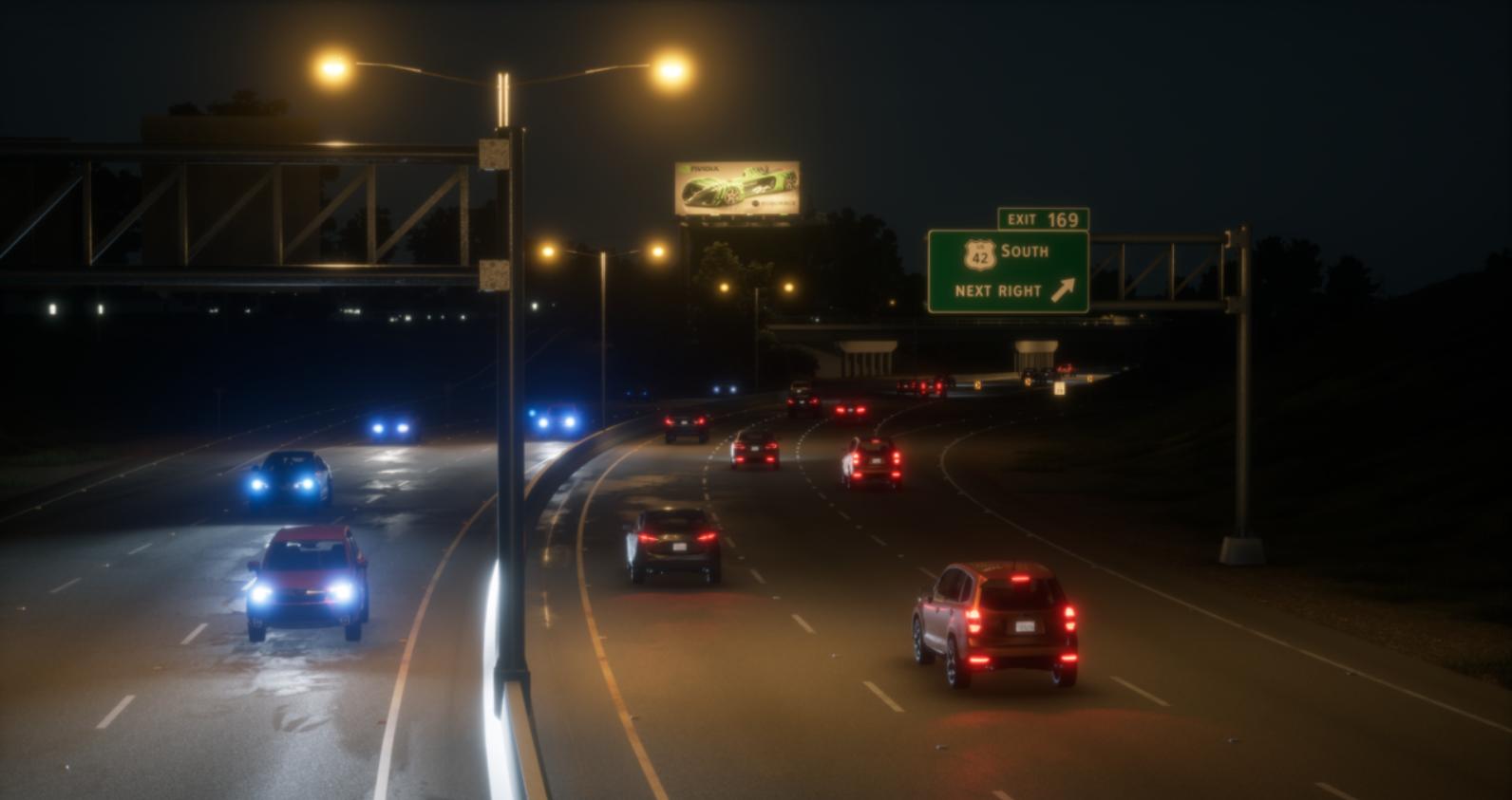 Nvidia ambiente simulado autónomos