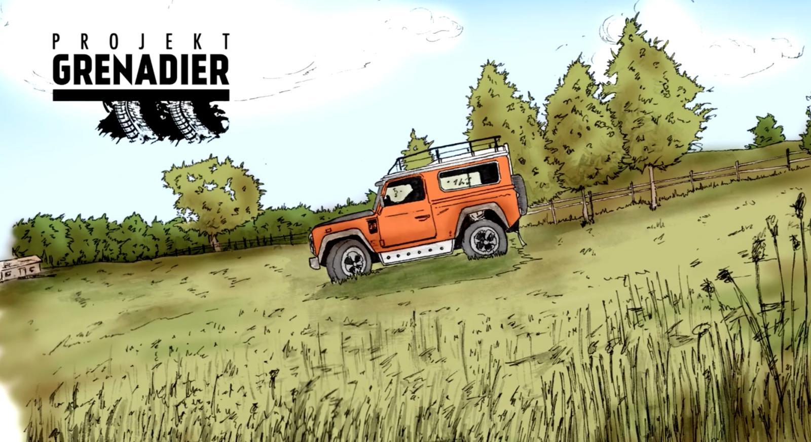 Ineos Automotive Projekt Grenadier