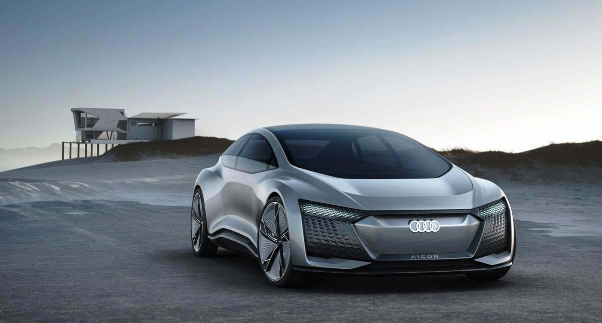 El Audi Aicon Concept es parte de los trabajos de la marca para autos eléctricos