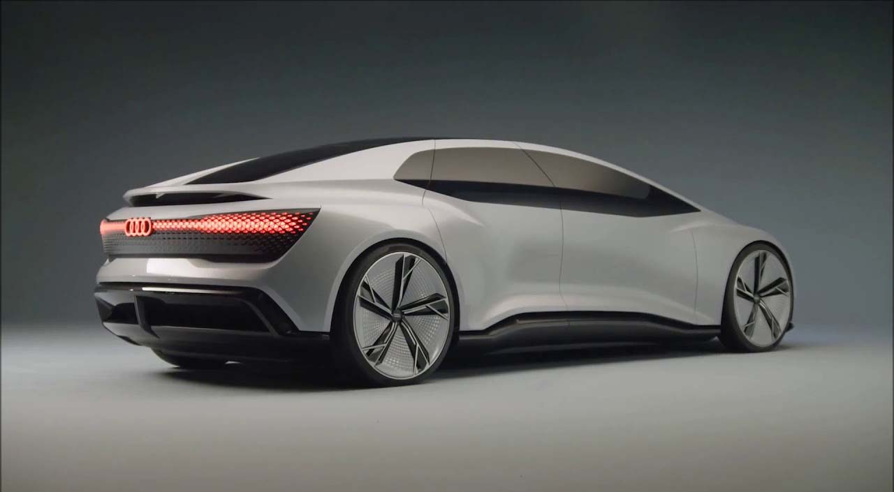 El Audi Aicon Concept no tiene pedales ni volante