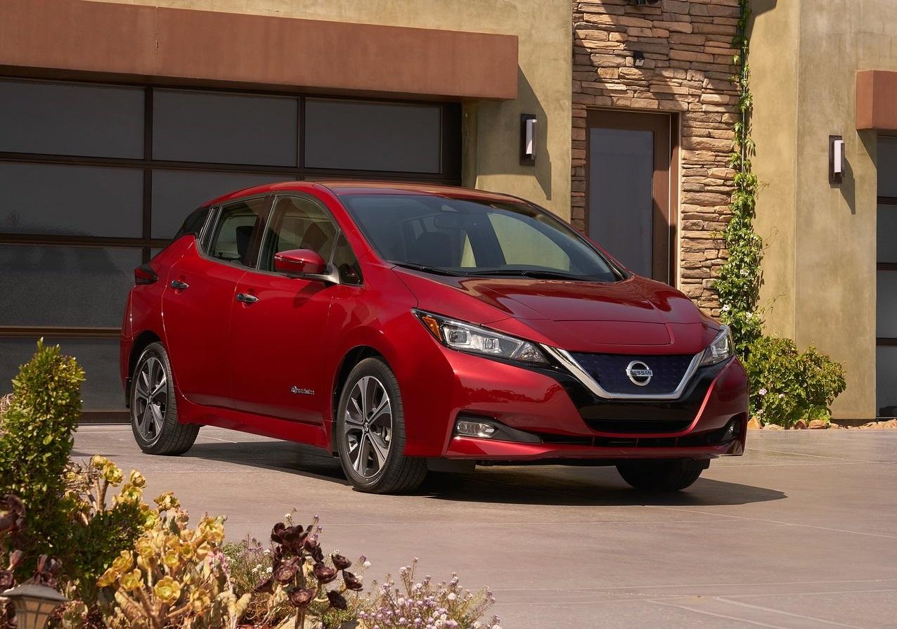 Nissan Leaf 2019 exterior