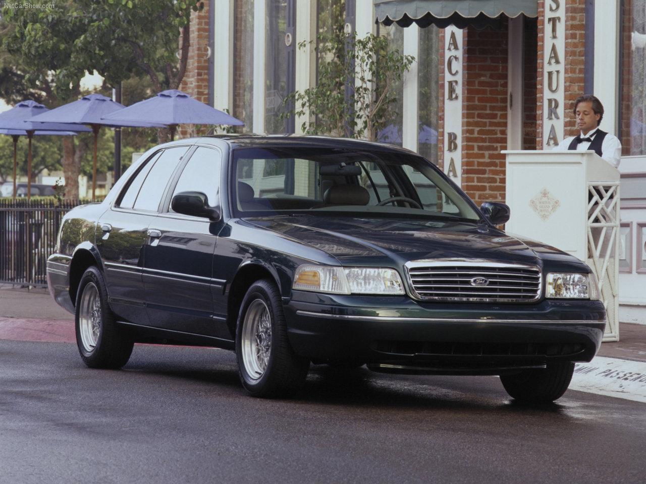 El Ford Crown Victoria se convirtió en un modelo icónico de la marca
