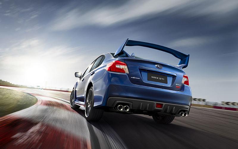 El manejo del Subaru WRX STI 2019 está lleno de adrenalina